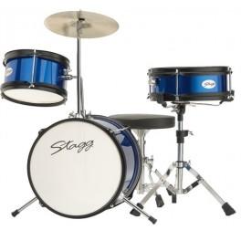 Stagg TIM JR 3/12 BL, dětská bicí sada, modrá
